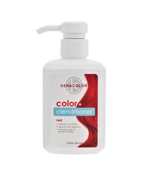 Keracolor Color Clenditioner Colour Shampoo 355ml - Red