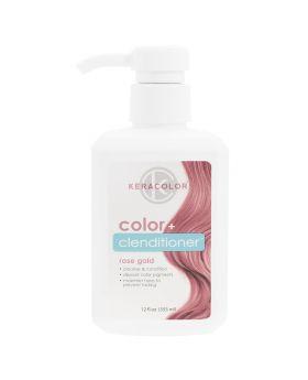 Keracolor Color Clenditioner Colour Shampoo 355ml - Rose Gold