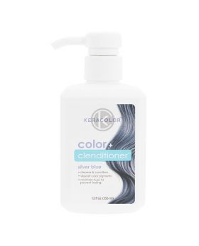 Keracolor Color Clenditioner Colour Shampoo 355ml - Silver Blue