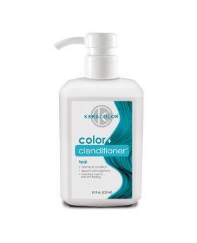 Keracolor Color Clenditioner Colour Shampoo 355ml - Teal