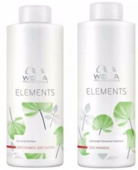 Wella Professionals Elements Renewing Shampoo and Conditioner 1 Litre Duo