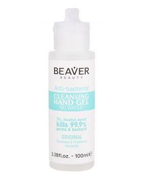 Beaver Beauty Salon Hand Sanitiser Anti Bacterial Cleansing Gel 100ml