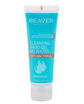 Beaver Beauty Salon Hand Sanitiser Anti Bacterial Cleansing Gel 75ml