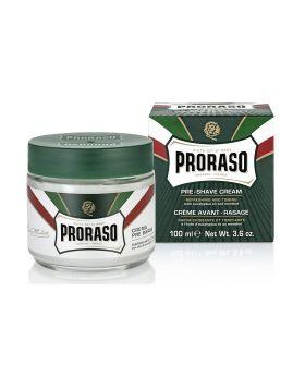 Proraso Pre Shave Cream Eucalyptus & Menthol Oil 100ml