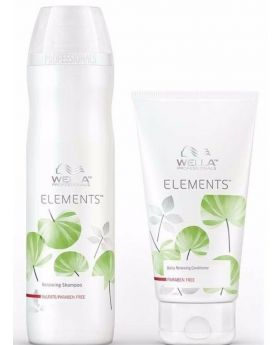 Wella Professionals Elements Renewing Shampoo 250ml Conditioner 200ml Duo