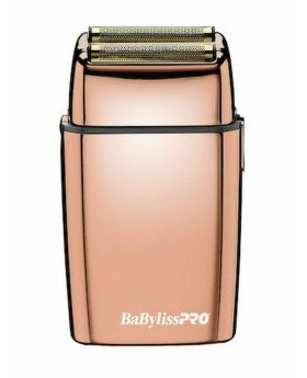 BaByliss Pro FoilFX02 Rose Gold Double Foil Barber Shaver