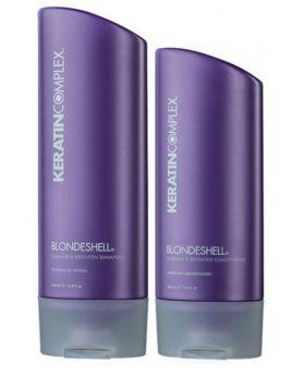 Keratin Complex Blondeshell Shampoo 400ml & Conditioner 400ml Duo