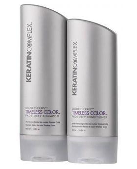 Keratin Complex Timeless Colour Shampoo 400ml & Conditioner 400ml Duo