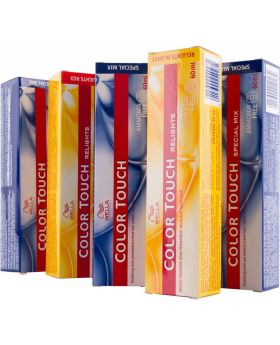 Wella Color Touch Semi Permanent Hair Colour 60g Tube - 7/75 Medium Blonde Brown Mahogany