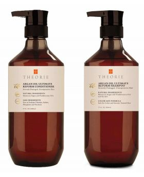 Theorie Argan Oil Ultimate Reform Hair Shampoo & Conditioner Duo 800ml