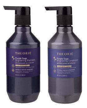 Theorie Purple Sage Brightening Hair Shampoo & Conditioner Duo 400ml