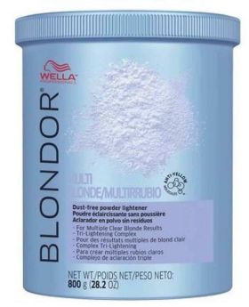 Wella Blondor Bleach Powder Multi Blonde Dust Free 800g