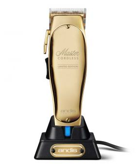 Andis Master Cordless Limited Edition Gold Hair Clipper