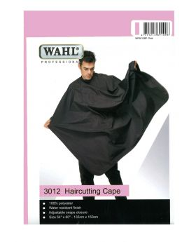 Wahl Polyester Haircutting Salon Barber Cape Pink WP3012DP