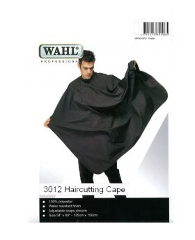 Wahl Polyester Haircutting Salon Barber Cape White WP3012W