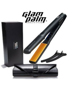 GlamPalm Professional Magic Ceramic Hair Straightener Iron GP313 (Medium)