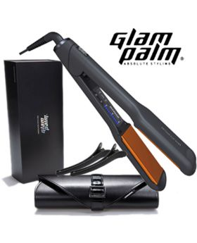 GlamPalm Professional Magic Ceramic Hair Straightener Iron GP501 (Wide)