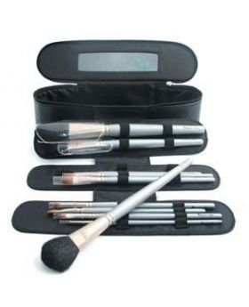 Denman Professinal Zipped Case With Mirror & 10 Make up Brush