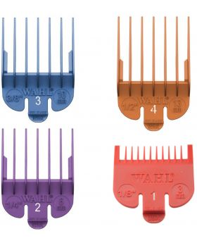 Wahl Colour Clipper Comb Attachment Guides #1 to #4 WA3163
