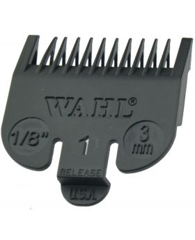 "Wahl Black Clipper Comb Attachment Guide #1 1/8"" WA3114"