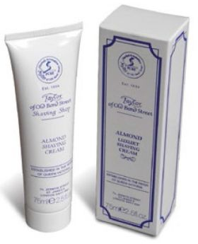 Taylor Of Old Bond Street Almond Shaving Cream 75ml