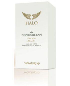 4x Wondercap Disposable Hair Shower Cap