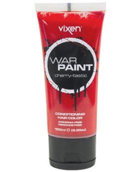 Vixen War Paint Chilli Pepper Semi Permanent Hair Colour 100ml