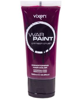 Vixen War Paint Crimson Crush Semi Permanent Hair Colour 100ml