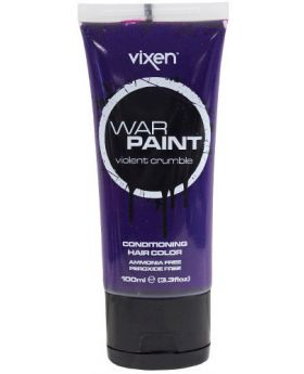 Vixen War Paint Violent Crumble Semi Permanent Hair Colour 100ml