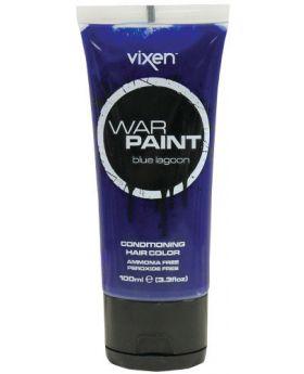 Vixen War Paint Blue Lagoon Semi Permanent Hair Colour 100ml
