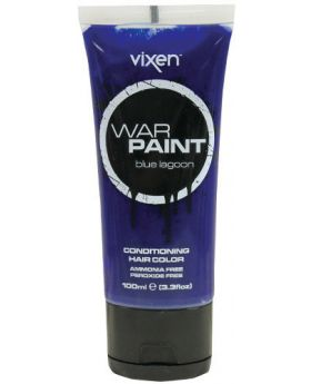 Vixen War Paint Blue Lagoon Semi Permanent Hair Colour 100ml