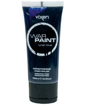 Vixen War Paint Lunar Blue Semi Permanent Hair Colour 100ml