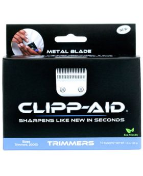 Clipp-Aid Blade Sharpening Crystals For Trimmers (Blue)