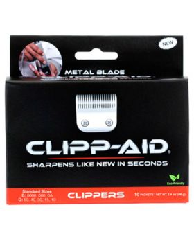 Clipp-Aid Blade Sharpening Crystals For Small Size Clippers (Red)
