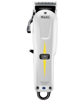 Wahl Cordless Super Taper Professional Hair Clipper (White) WA8591-012