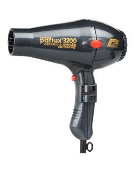 Parlux 3200 Ionic + Ceramic Compact Professional Hair Dryer-Charcoal