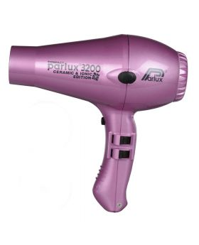 Parlux 3200 Ionic + Ceramic Compact Professional Hair Dryer-Pink