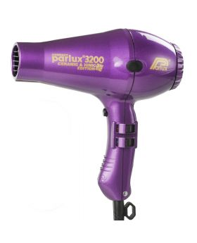 Parlux 3200 Ionic + Ceramic Compact Professional Hair Dryer-Purple