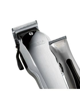 Wahl Brushed Combo Pack Taper 2000 Clipper & Rechargeable Beret Hair Trimmer 8472-1812