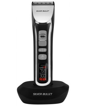 Silver Bullet Ceramic Pro Cord/Cordless 240 Hair Clipper
