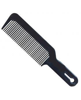 Marvy Flat Top Barber's Hair Clipper Cutting Comb Black 904