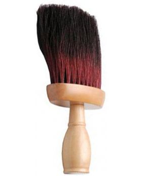 Professional Salon Neck Duster (Black/Red)