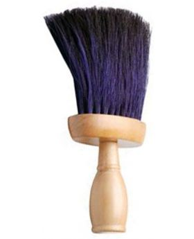 Professional Salon Neck Duster (Black/Blue)