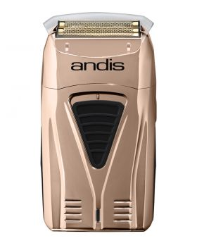Andis Profoil Cord/Cordless Lithium Titanium-Ion Foil Shaver TS1 Copper #17220