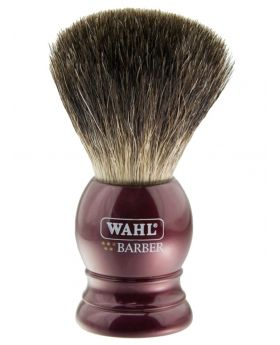Wahl Traditional Barbers Badger Bristle Shaving Brush