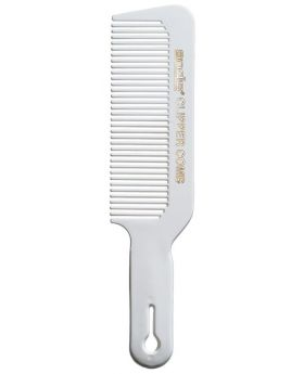 Andis Flat Top Barber's Hair Clipper Cutting Comb White