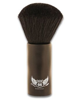 Cricket Route 66 Barber Duster NeckFace Brush (Black)