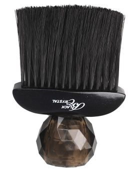 Silver Bullet Crystal Neck Duster Brush (Black)