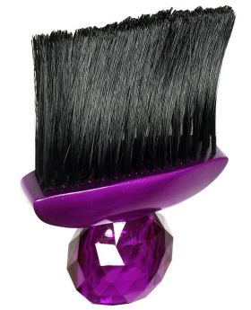Silver Bullet Crystal Neck Duster Brush (PU)