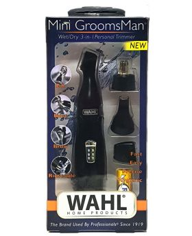 Wahl 3 in 1 Eyebrow & Nose & Ear Battery Mini Trimmer 5608-512